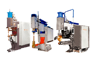 DC spot and seam resistance welding machines