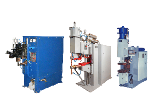 Low frequency resistance welding machines